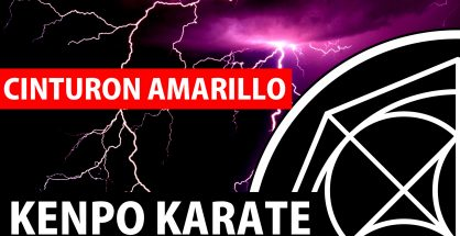 Cinturón Amarillo en Kenpo Karate