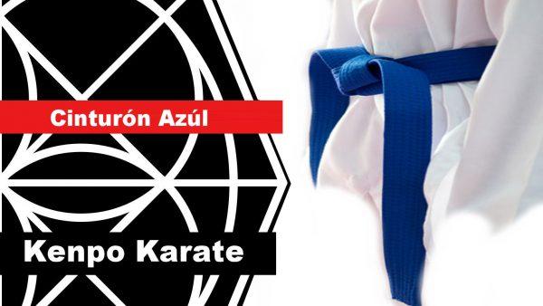 Cinturon Azul en Kenpo Karate