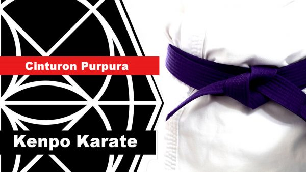Cinturón purpura en Kenpo Karate