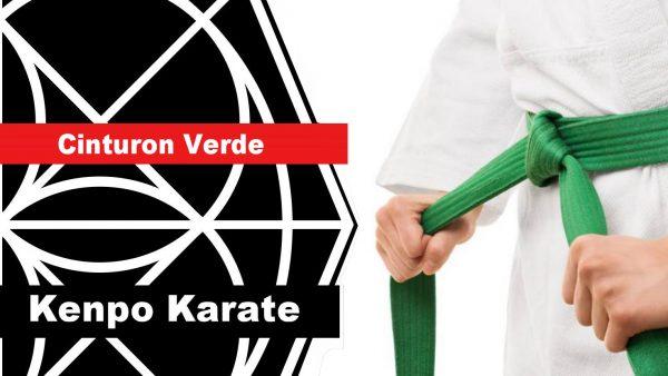Cinturón verde en Kenpo Karate