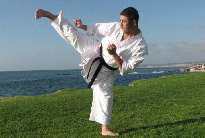 Patadas del Karate