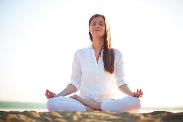 La postura del loto - Padmasana