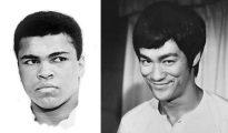 Muhammad Ali y Bruce Lee