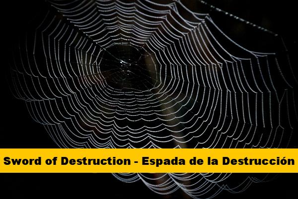 Sword of Destruction - Espada de la Destruccion Cinturon Amarillo