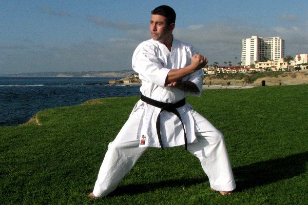 Posiciones del Karate