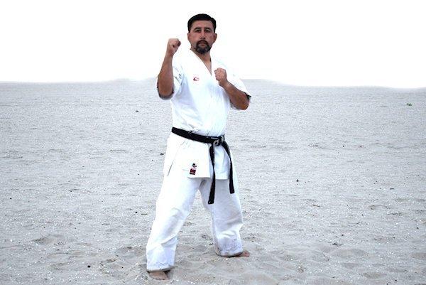 Posición de Combate en Karate