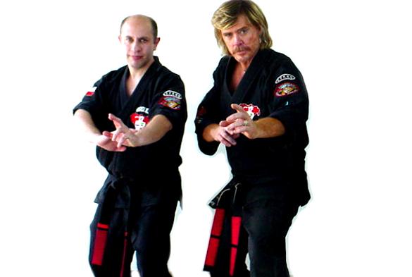 Posición de Combate en Kenpo Karate