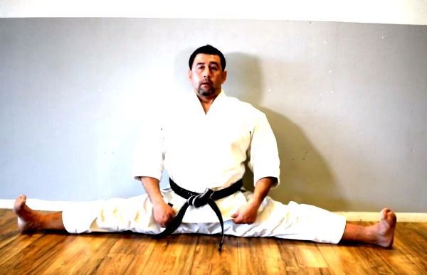 Flexibilidad en Karate