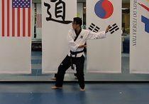 Koryo forma Cinturon Negro en Taekwondo