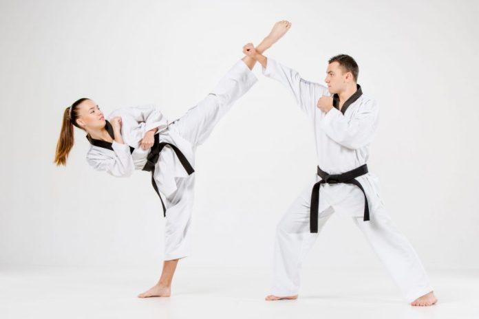 Patada Circular o Dolyo Chagy en Taekwondo