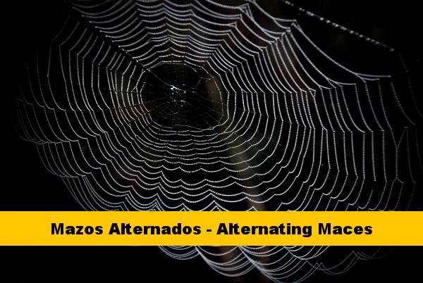 Mazos Alternados - Alternating Maces Cinturon Amarillo