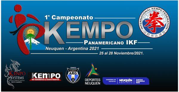 Primer Panamericano de Kempo en Argentina Noviembre 2021
